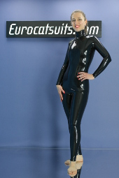 made to measure latex catsuit