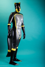 latex fox - made to measure catsuit