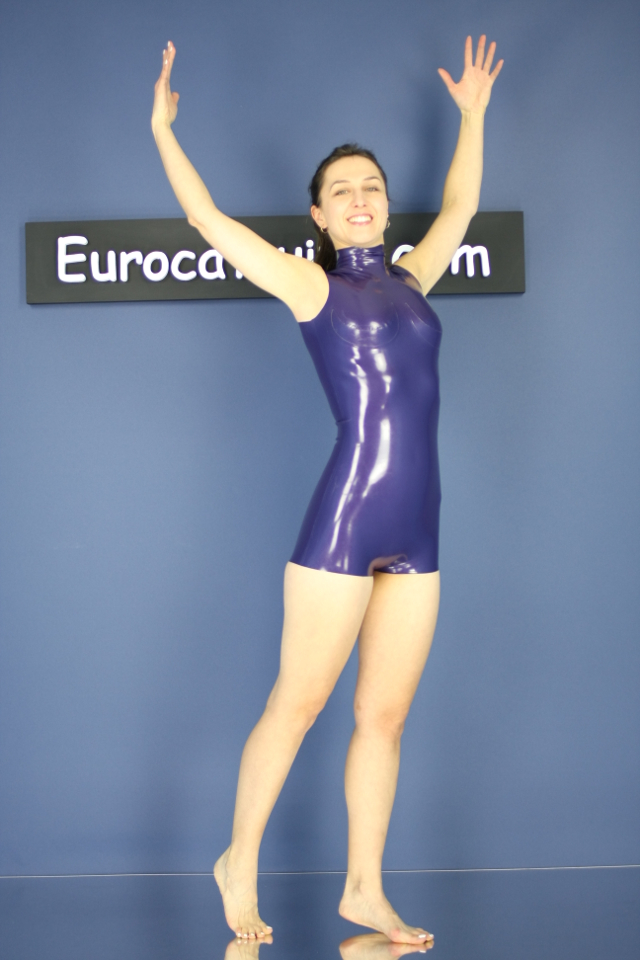 made to measure latex swimsuit