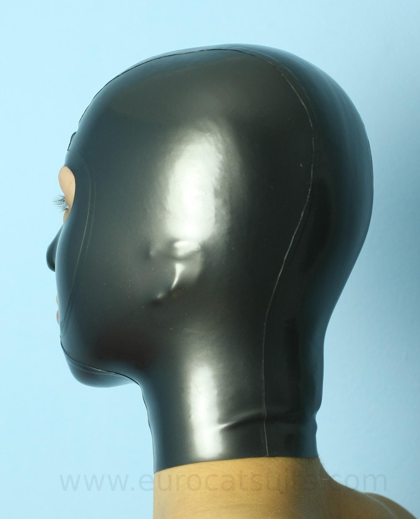 Think, A latex mask amusing
