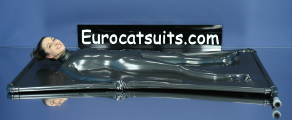 latex vacbed with collar
